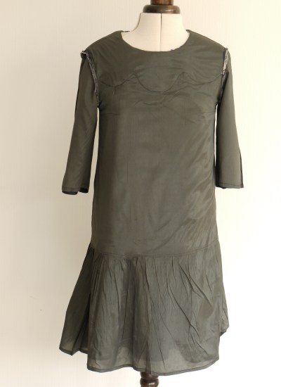 Dress fully lined with viscose lining fabric
