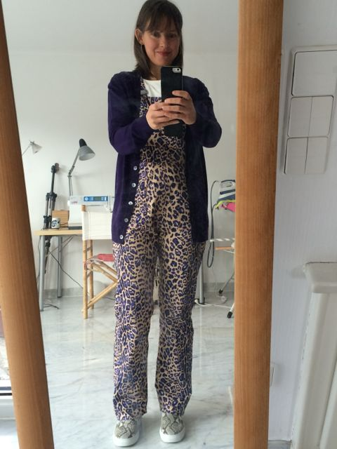 Leopard print Turias - you can see how my Turias are getting a little crazier as the weeks go on! And I'm wearing them with snake skin shoes - scandalous!