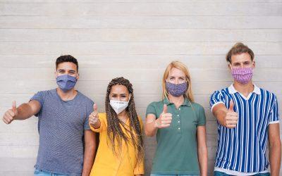 Temporary return to masks