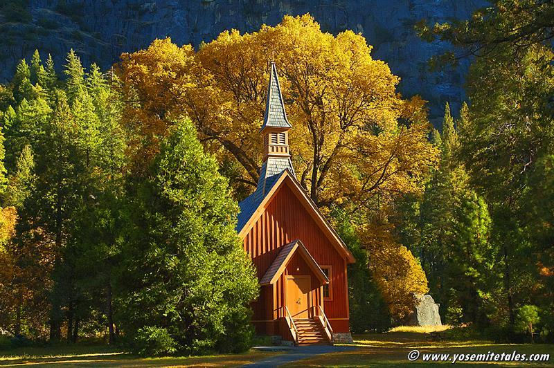 Autumn Chapel By Jeff Kreider