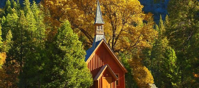 Autumn Chapel By Jeff Kreider Yosemite