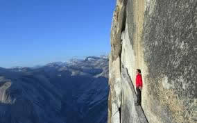 half-dome-with-climber