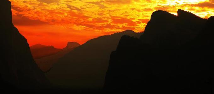 Sunrise at Yosemite