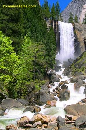 Vernal Falls Vertical