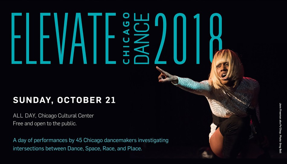 Elevate Chicago Dance 2018 Flyer