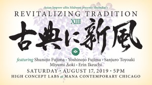 Revitalizing Tradition XIII - Flyer