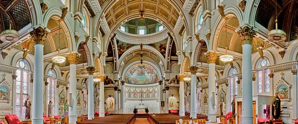 Chiesa di San Leonardo a Boston - Foto di http://www.yoshiokafoto.com
