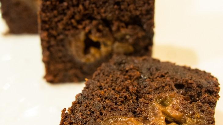グリオットチェリーのチョコレートケーキ