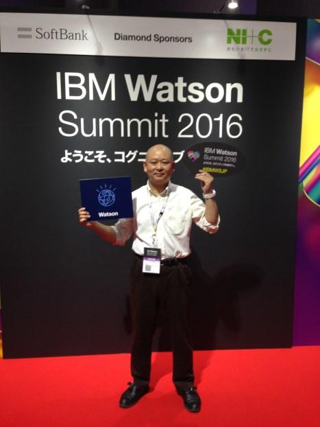Yoshiyuki@ibm watson summit 2016
