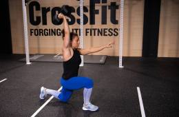 overhead lunges 19.3