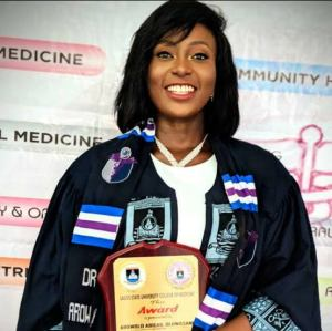 Read more about the article Meet 23-year-old Arowolo, LASUCOM best graduating student