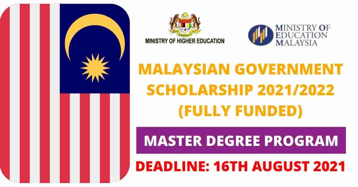 Read more about the article Apply for the Fully Funded Malaysia Government Scholarship 2021/2022