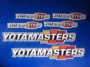 Yotamasters logo stickers