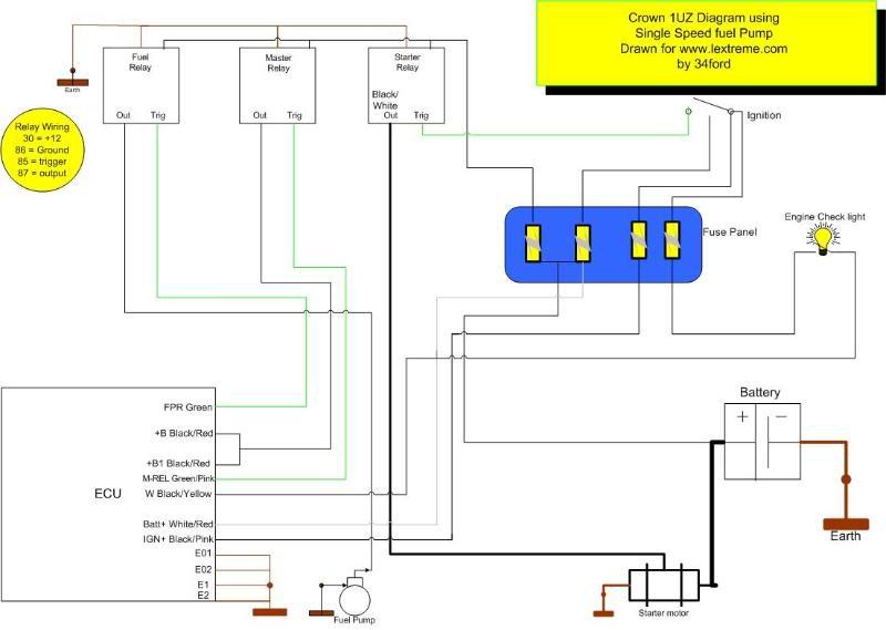 fuse box for 1992 toyota previa  toyota  auto wiring diagram