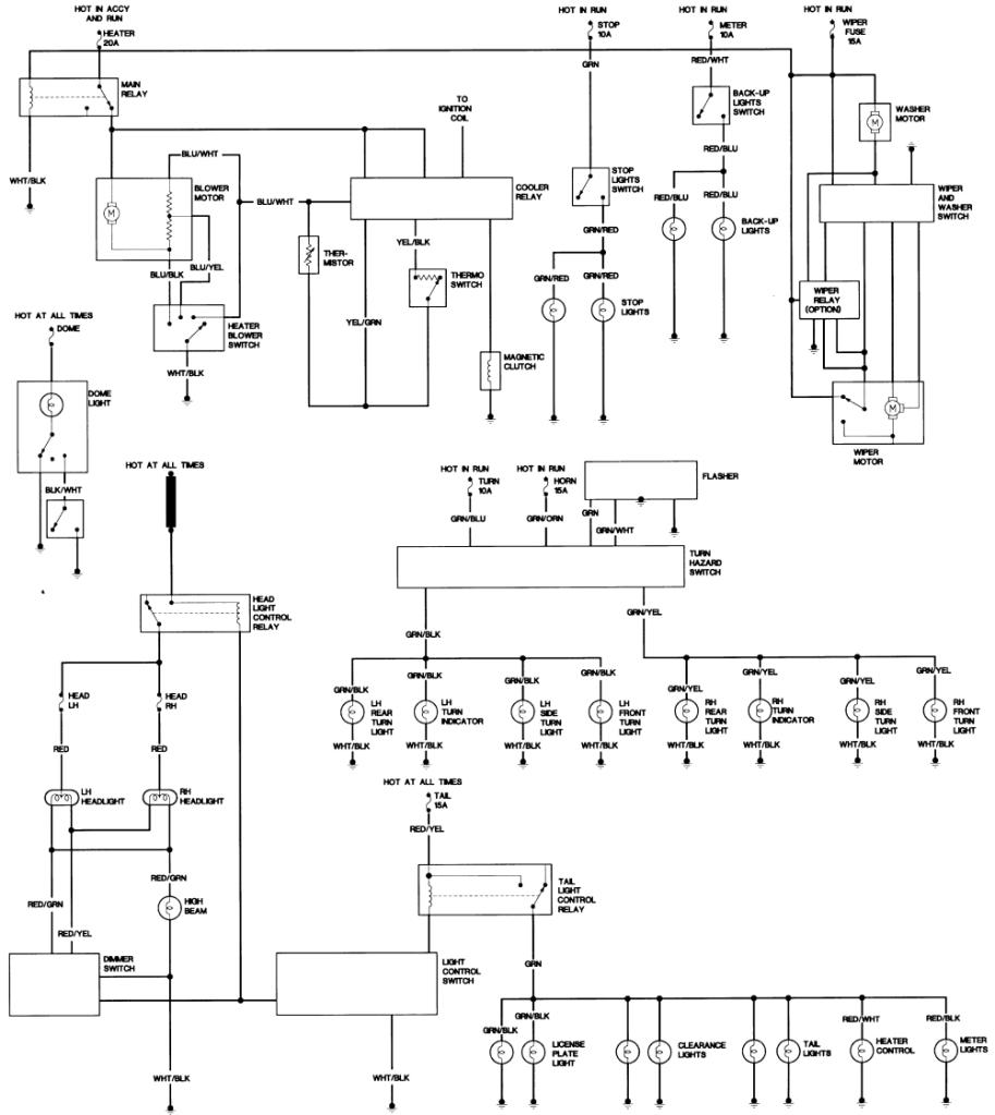 nissan ga16de wiring diagram #16 1997 Nissan Sentra Engine nissan ga16de wiring diagram