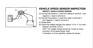 93 4Runner V6 Auto 4x4 speed sensor road block  YotaTech