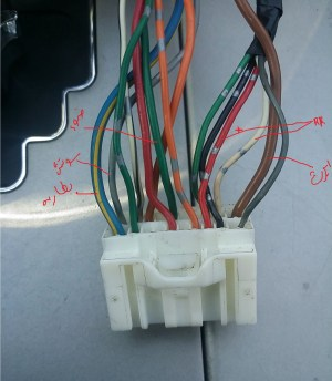 Default Toyota Camry 2007 radio wire  YotaTech Forums