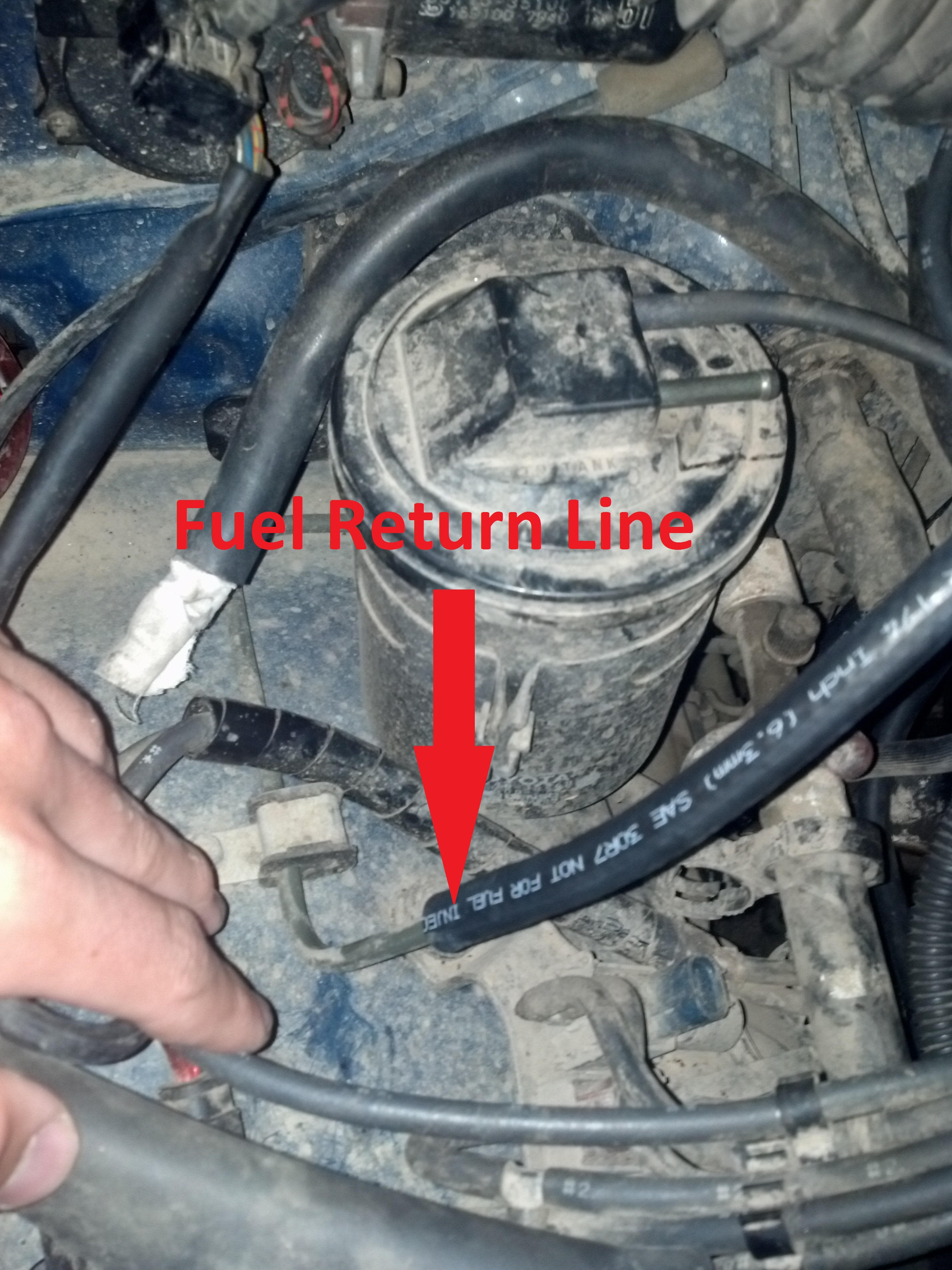 What To Do About The Fuel Return Line