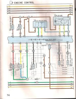 1993 LS400 1UZFE wiring diagram  YotaTech Forums