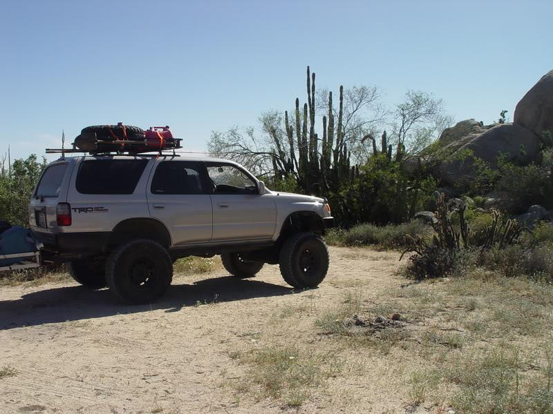 safari rack on your 3rd gen 4runner