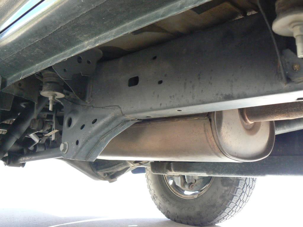 Toyota 4runner frame rust recall
