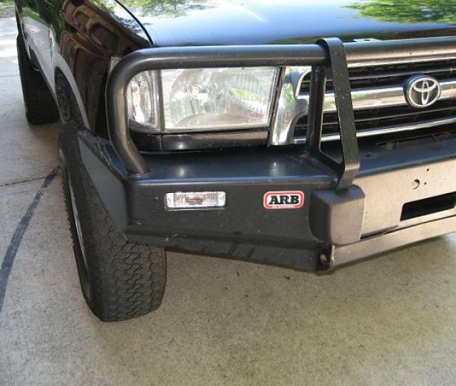 Clear Turn Signals For 3rd Gen 4runner And 1st Gen Tacoma Arb Bumpers Passenger