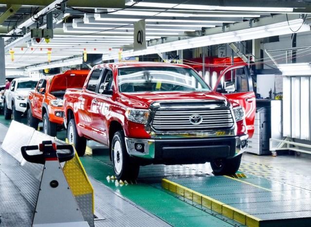 Toyota tacoma factory
