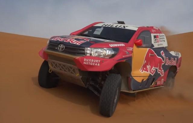 2018 Toyota Hilux Evo Dakar Rally