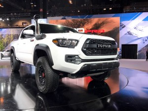 2019 Toyota TRD Pro Models Unveiled at 2018 Chicago Auto Show