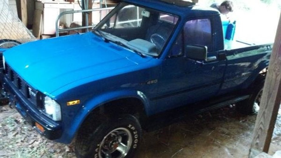 1981 Toyota Clean in the Barn