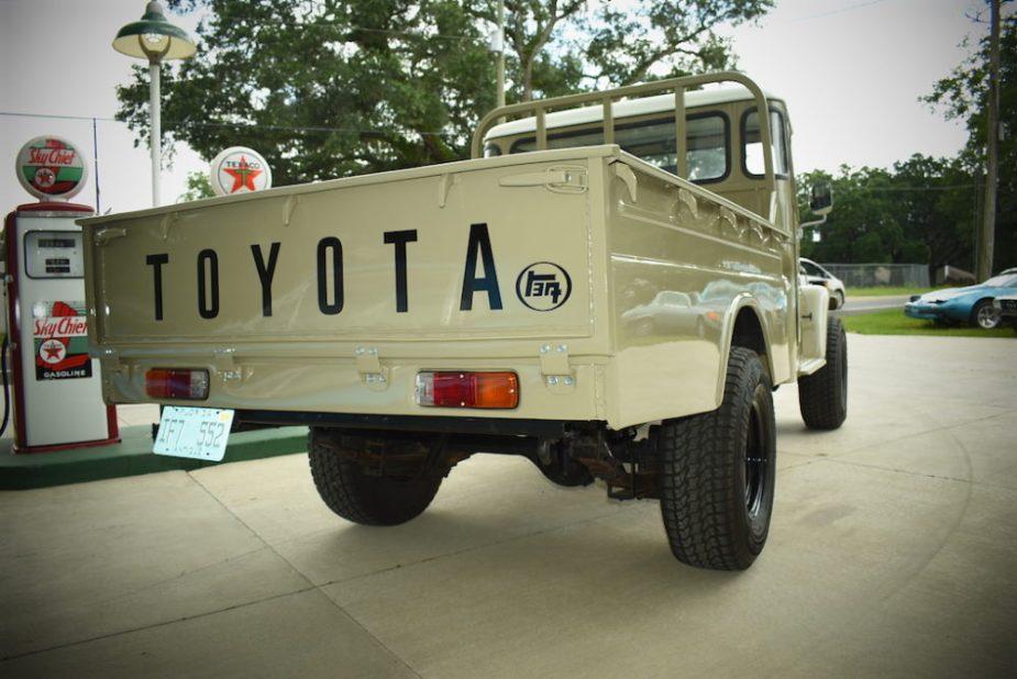 1979 Toyota FJ45 Land Cruiser.