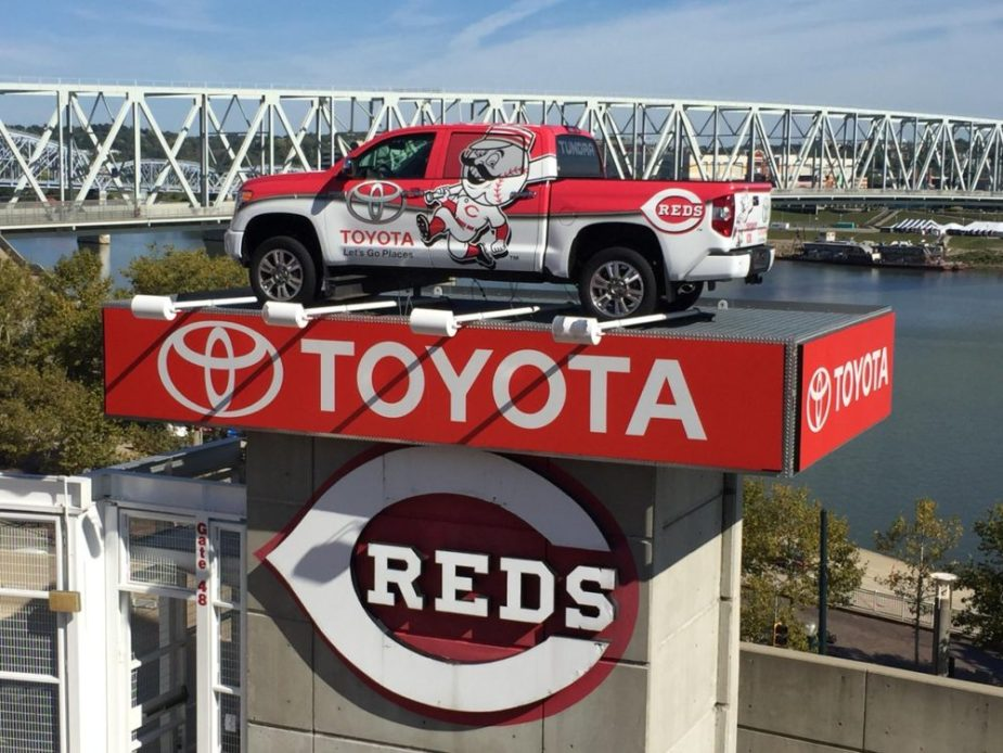 Toyota Tundra at Great American Ballpark
