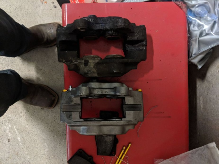 Toyota 4Runner Calipers