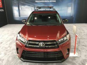 Toyota Highlander Nightshade Edition