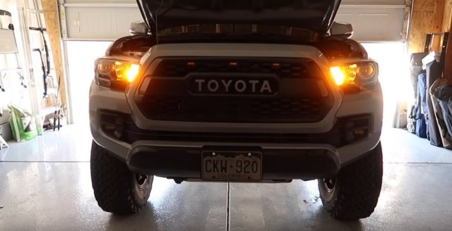 Tacoma LED Turn Signals