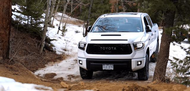 yotatech.com 2019 Toyota Tundra TRD Pro Gold Mine Hill