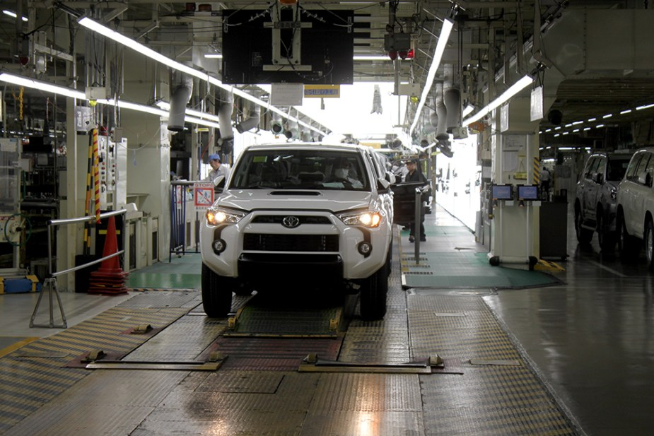 Toyota Tahara plant