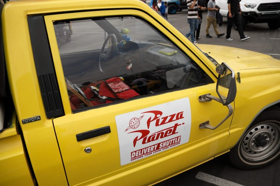 Toyota Pizza Planet Delivery Truck