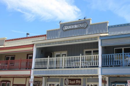 Jackson Hole is een plaats in western style