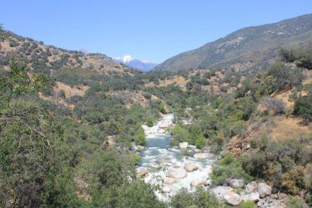Kaweah River in Sequoia NP