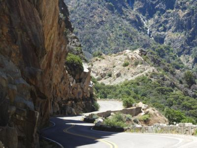 Windy Roads in Kings Canyon NP