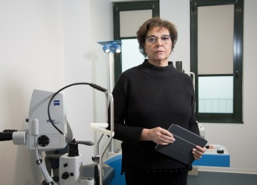 """Anna Altomare, Blue Eye: """"Eye surgery brings together medical specialisation and state-of-the-art equipment"""""""