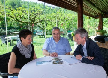 """Lino Martinelli, owner of La Griglia restaurant: """"These days it's all about experience-based tourism"""""""