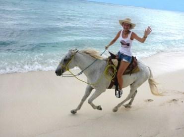 Mexico horse beach ride