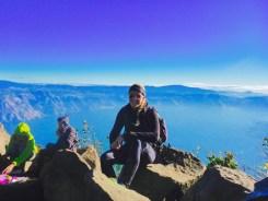 Guatemala volcano view
