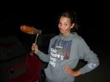 Yoshua Tree axe camping