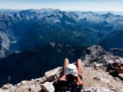 Watzmann view alps