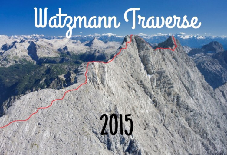 Graphical representation of the Watzmann Traverse