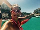 sailing girl summer