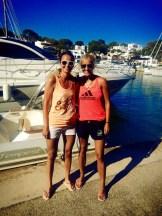 yacht babes sailing